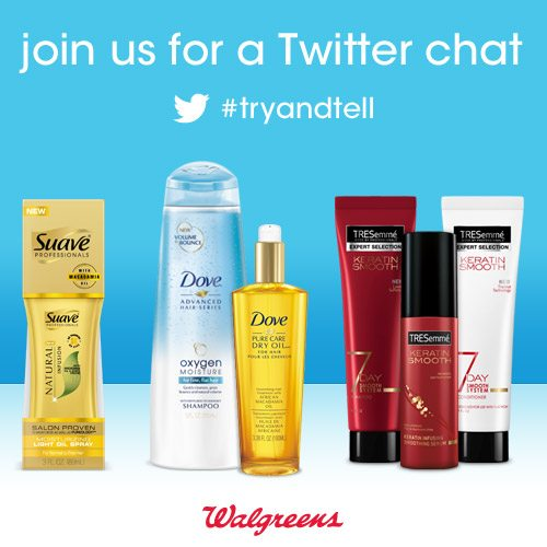 Twitter Party 2/11 #TryAndTell Hair Innovations
