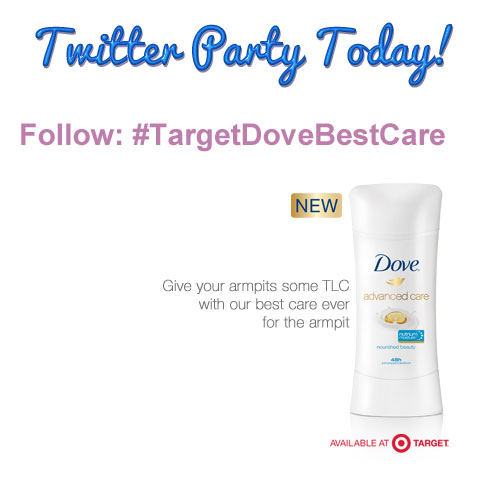 Twitter Party #TargetDoveBestCare at 8pm EST