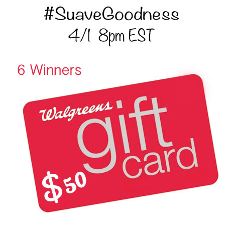 Twitter Party #SuaveGoodness 4/1 8pm EST