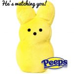 PEEPS He is Watching you! Shop For PEEPS Apparel and Accessories for Easter