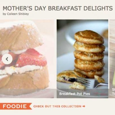 Collection of Recipes : Mother's Day Breakfast Delights