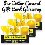 Say Thanks to Mom! Dove $50 Dollar General Gift Card : (Ends 5/18)
