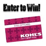 All Things School at Kohl's and $100 Kohl's Gift Card Giveaway : (Ends 8/29)