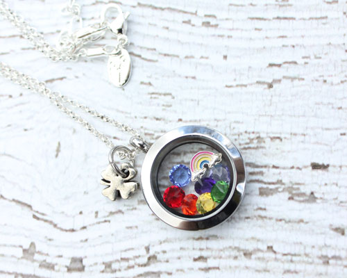 rainbow-locket