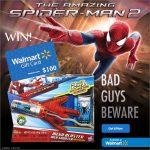 The Amazing Spider-Man 2 $100 Walmart Gift Card & More Giveaway : (Ends 5/31)