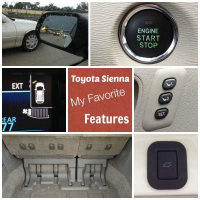 Toyota Sienna My 6 Favorite Features