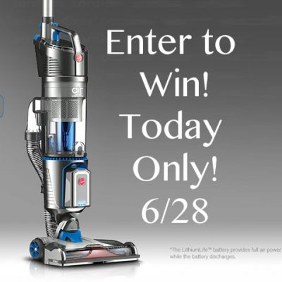 Hoover® Air™ Cordless Vacuum Giveaway 2 Winners : (Ends 6/28)