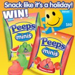 New PEEPS Minis Prize Pack and $50 Walmart Gift Card Giveaway : (Ends 6/30)