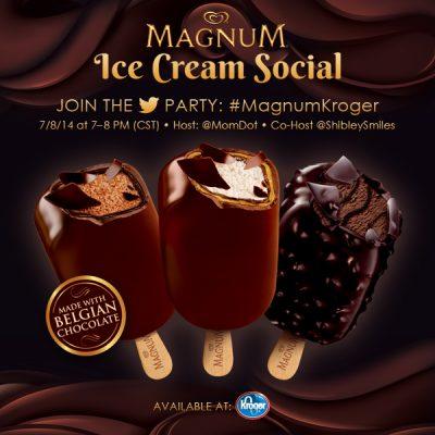 Twitter Party #MagnumKroger 7/8 8pm EST