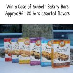 Case of Sunbelt Bakery Granola Bars Giveaway : (Ends 8/10)