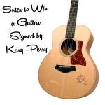 #MakeRoarHappen and Katy Perry Autographed Guitar : (Ends 8/18)