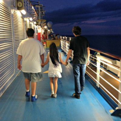 Kids Come Out to Play on the Carnival Breeze