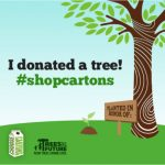 Retweet to Donate a Tree with #shopcartons