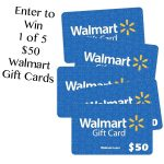 $50 Walmart Gift Card Giveaway (5) Winners : (Ends 8/7)