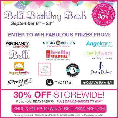 Belli Birthday Bash September 8th-23rd