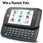 Pantech Vybe the Phone for Tweens Giveaway : (Ends 9/12)