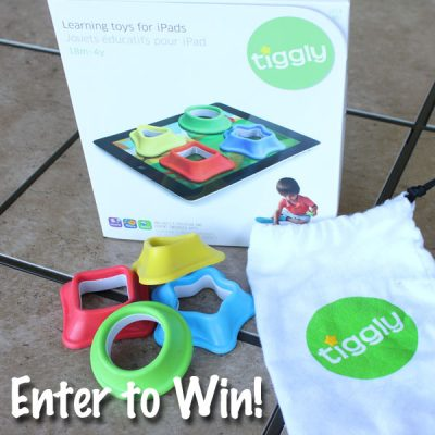 Tiggly Shapes for Your iPad Giveaway : (Ends 9/14)