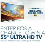 Ultra HD TV Event at Best Buy and a Chance win an Ultra HD TV