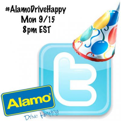 #AlamoDriveHappy Twitter Party w/ Molly Sims 9/15 8pm EST