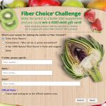 Take the 30 Day Get Picky Challenge for a Chance to Win $500