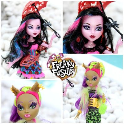 Monster High Freaky Fusion Right in Time for Halloween