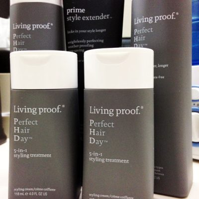 Get Relaxing Beach Wave Curls with Living Proof
