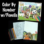 Our Art Project : Color Pencil By Number