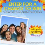 Snap, Share, & Win with Suave Fall Family Selfie