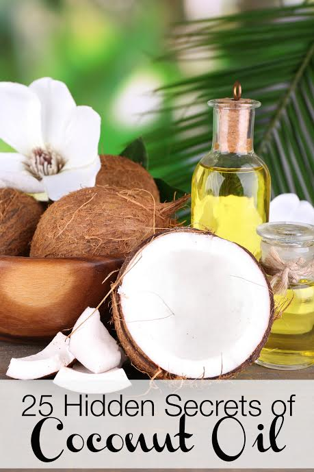 25 Hidden Secret Uses and Benefits of Coconut Oil