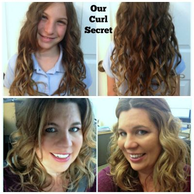 Easy Stay in Curls with Curl Secret