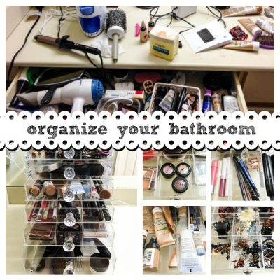 Bathroom Organizer for the Unorganized
