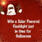 Does Solar Power Work at Night? Win a Solar Powered FlashLight