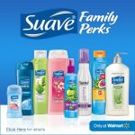 Enjoying Savings with Suave Family Perks