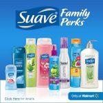 Enjoying Savings with Suave Family Perks