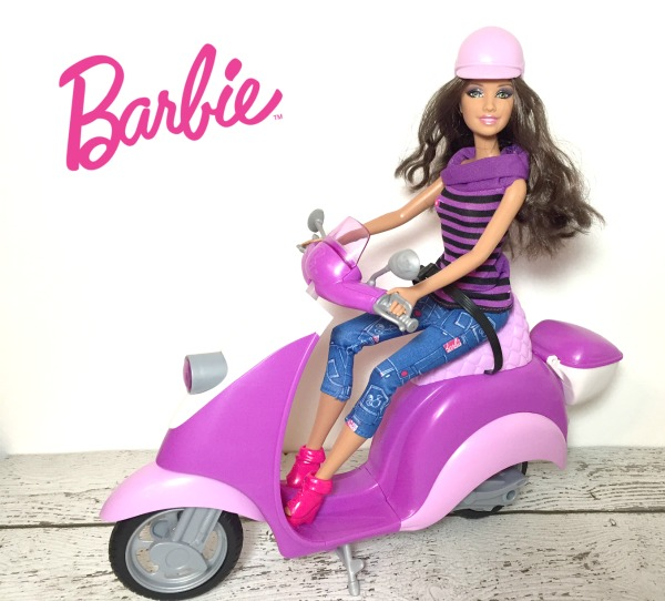 Barbie-Scooter