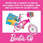 Become A Barbie Fashion Designer  & $100 Toys R Us and Barbie Bike Giveaway : (Ends 12/23)
