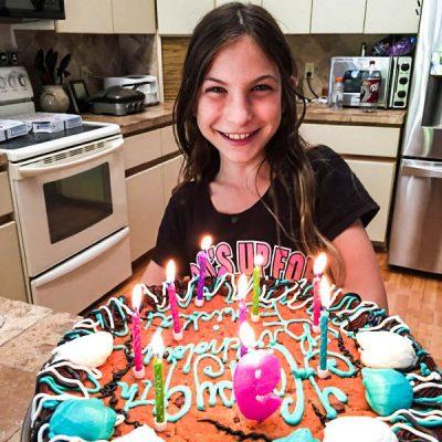 Wordless Wednesday : Birthday Girl