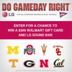 Do Game Day Right $300 Walmart Gift Card Giveaway : (Ends 11/14)