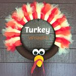 DIY Thanksgiving Turkey Wreath Craft