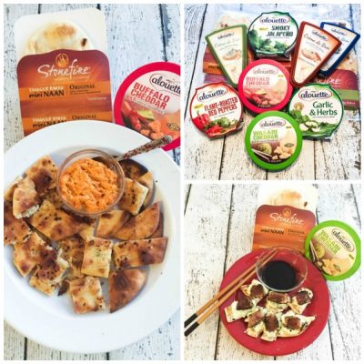 Alouette Cheese and Stonefire Flatbread Recipes