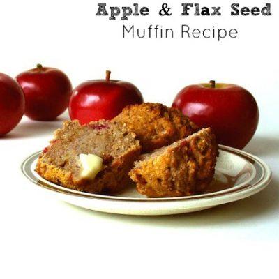 Apple & Flax Seed Muffins Recipe