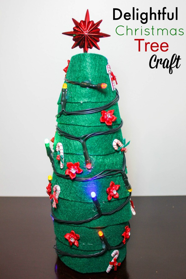Delightful Christmas Tree Craft