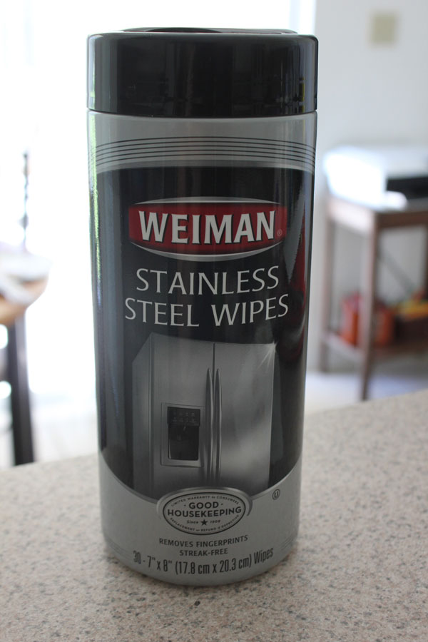how to clean stains on stainless steel appliances