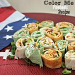 Color Me Pinwheels Appetizers Recipe and Prizes