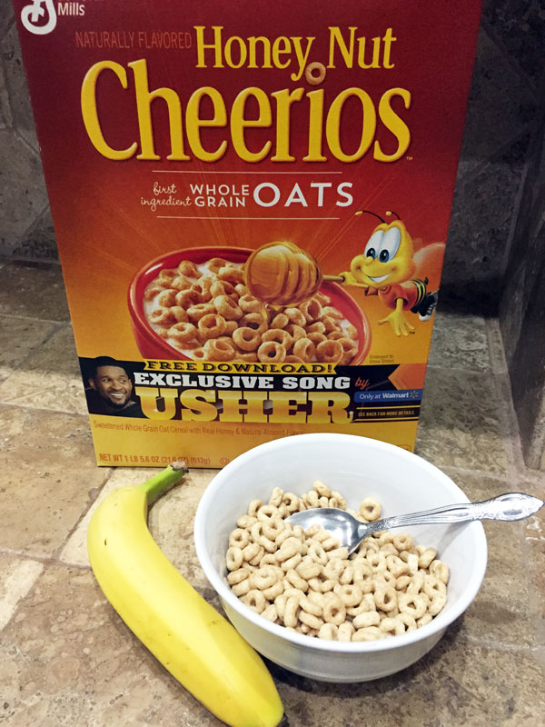 Honey Nut Cheerios and User