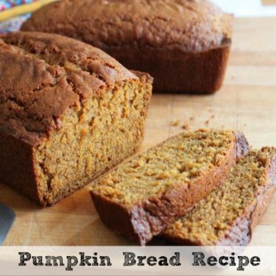 The Perfect Pumpkin Bread Recipe