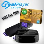 Real Player Cloud Roku 2 and $200 Amex Gift Card Giveaway : (Ends 12/14)