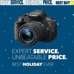 Holiday Savings on DSLR Cameras at Best Buy