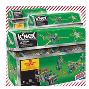 Three K'nex Toy Chest Giveaway: (Ends 12/23)