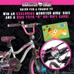 I've Created a Monster : $100 Toys R Us Gift Card and Monster High Bike Giveaway : (Ends 12/23)
